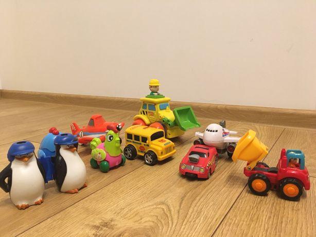Zabawki samochody samoloty