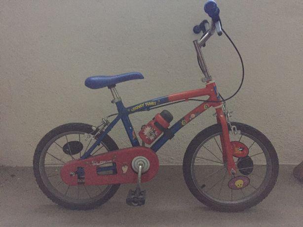 Bicicleta Looney Tunes