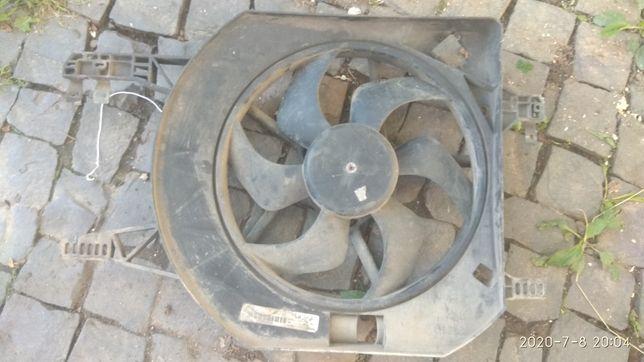 Б/У Вентилятор основной (1.9dci ) Renault TRAFIC