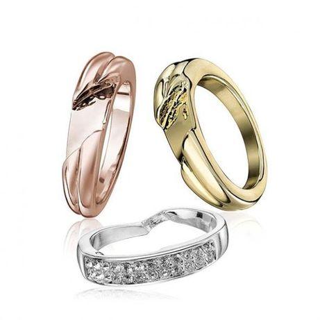 Zestaw 3 pierścionków Averie