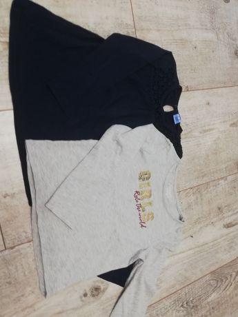 Koszulki długi rękaw r. 116