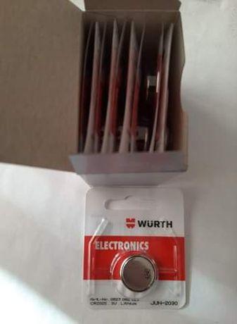 Baterie okrągłe Wurth(cena za paczkę)