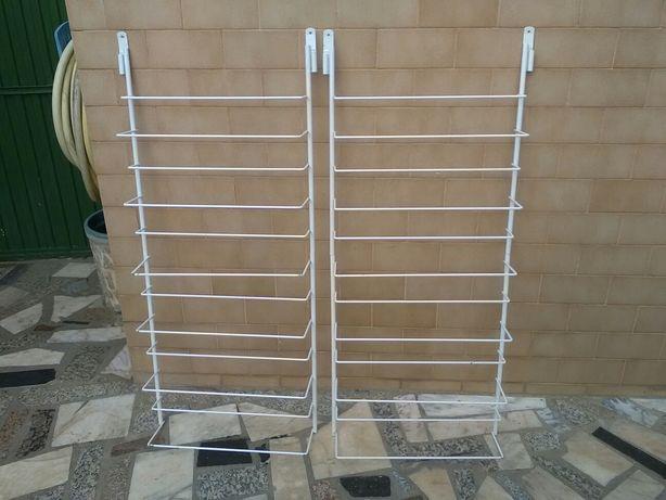 Dois suportes para sapatos para colocar dentro do armário 24 pares