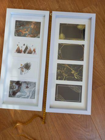 Ramka biała cena za szt. 20zł zdjęcie 10x15 na 4 zdjęcia