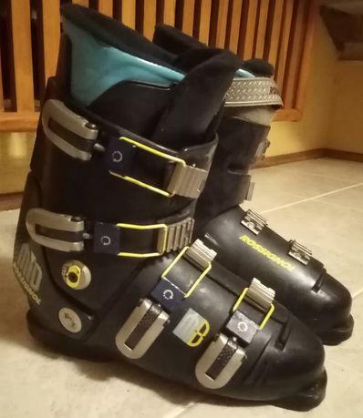 ZESTAW NARCIARSKI - narty, buty narciarskie i kije