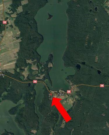 Działka na Mazurach nad jeziorem Mokrym (2 działki)