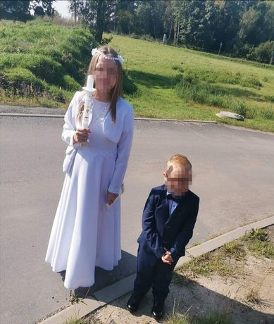 Sukienka komunijna 152, 158