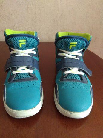 Демосезонні ботинки хайтопи FILA оригінал 32 розмір