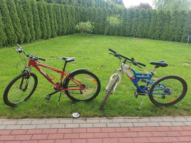 Sprzedam dwa rowery górskie KROSS