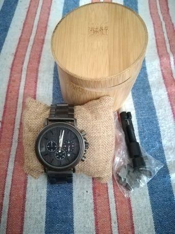 Drewniany zegarek męski NOWY