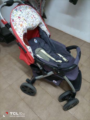 Carro e ovo de bebê