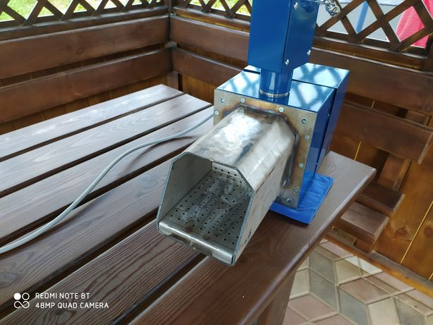 Факельная пеллетная горелка 20 Квт в пеллетный твердотопливный котел