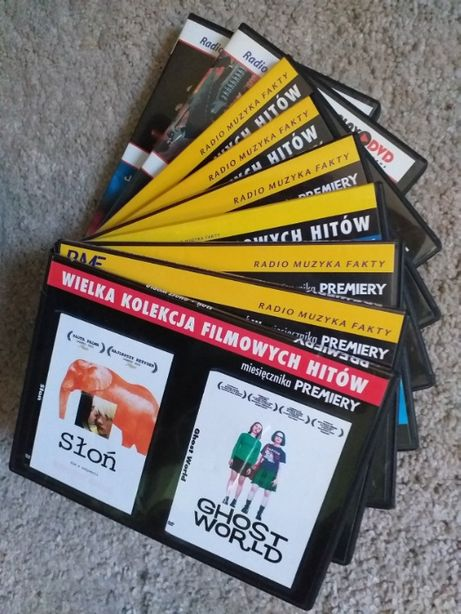 pakiety filmów DVD - 18 tytułów