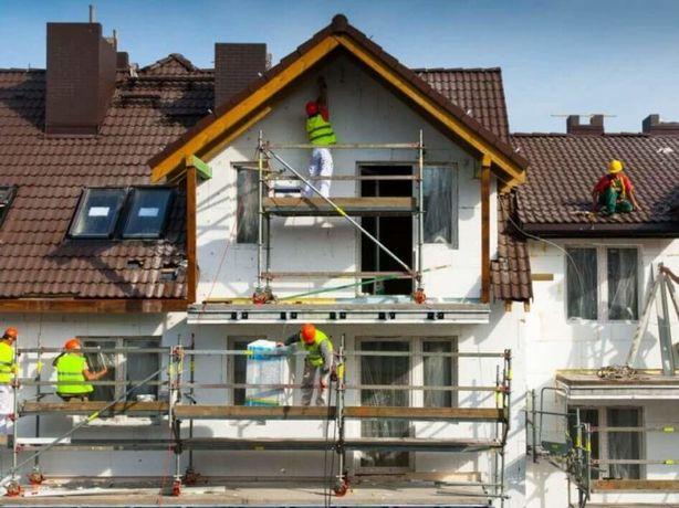 утепление фасада не дорого,быстро,качественно,надежно с гарантией