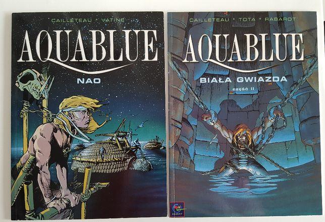 Aquablue Nao i Biała Gwiazda część II komiks