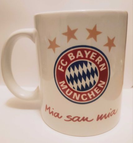 Kubek ceramiczny FC Bayern