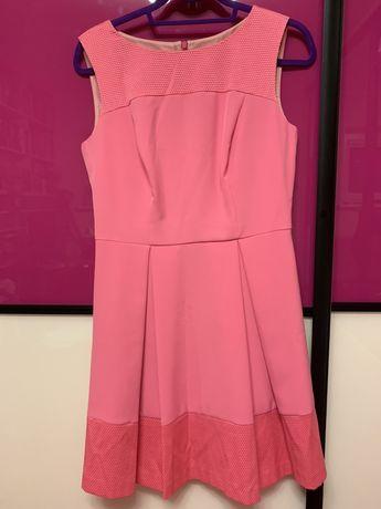 Letnia sukienka różowa