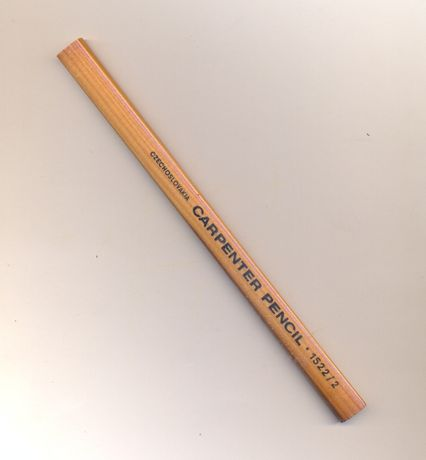 Ołówek stolarski - zabytek