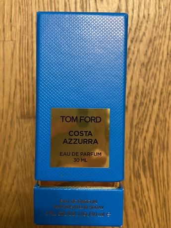 Упаковка коробока Tom Ford Costa Azzurra оригинал