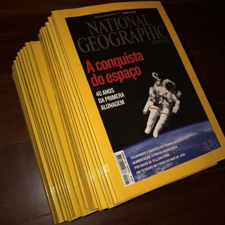 Revistas National Geographic 2007, 2008, 2009