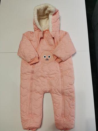 Kombinezon zimowy niemowlęcy 5 10 15 nowy dla dziewczynki 86