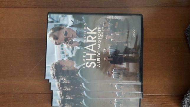 DVD serie Shark - completa