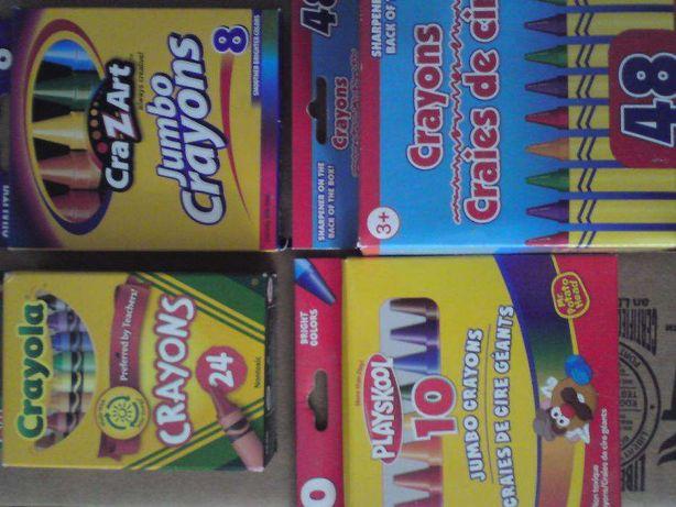 цветные карандаши оригинал crayola