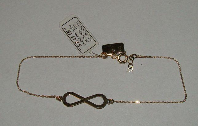 Złota bransoletka 14 k.próby 585-Firma Szafir-Wzór 103