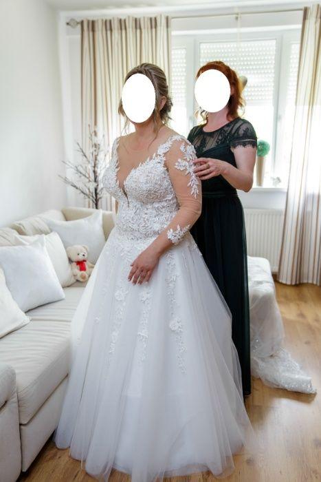 Suknia ślubna Vanessa Diamond kolor ivory+dodatki
