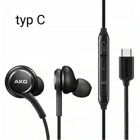 Słuchawki Samsung Akg typ c note 10 s20 i inne !!SZYBKA WYSYŁKA!!