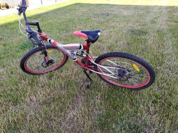 rower na kołach 26, rower górski, przerzutki 3 przód tył 6