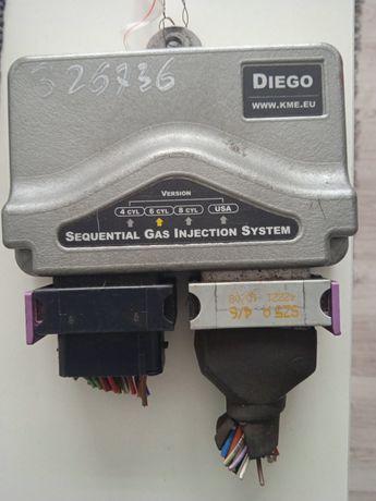 Sterownik gazu,sekwencja,KME DIEGO G3, 6 cyl.