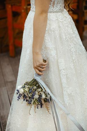 Suknia Ślubna w stylu rustykalnym
