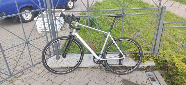 Туринговий шосейний велосипед RC100 - Сірий