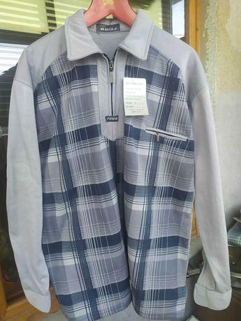 кофта рубашка мужская 56 размер
