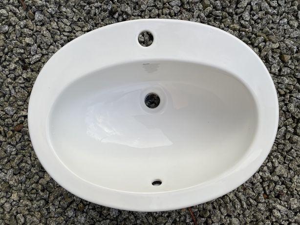 Umywalka wpuszczana w blat