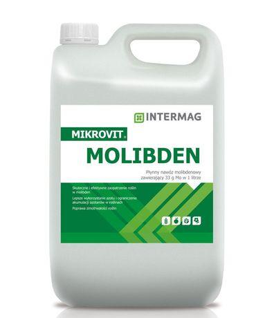 Mikrovit Molibden 5L Intermag NAJSKUTECZNIEJSZY MO3% Wysyłka 24h