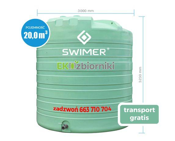 Zbiornik do RSM SWIMER Agro Tank 20000l Szybkie Dostawy
