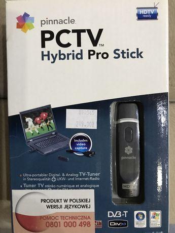 Pinnacle Hybrid Pro Stick Dvb-T Hdtv na USB .Tuner telewizyjny.
