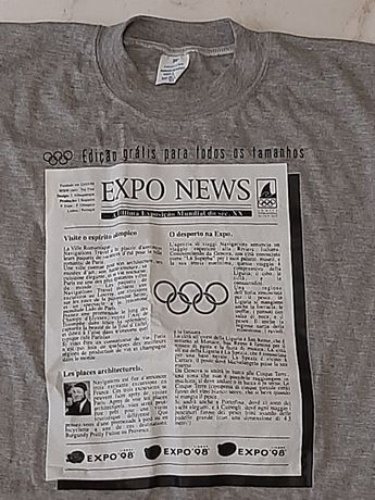 T-shirt Expo 1998 Portugal