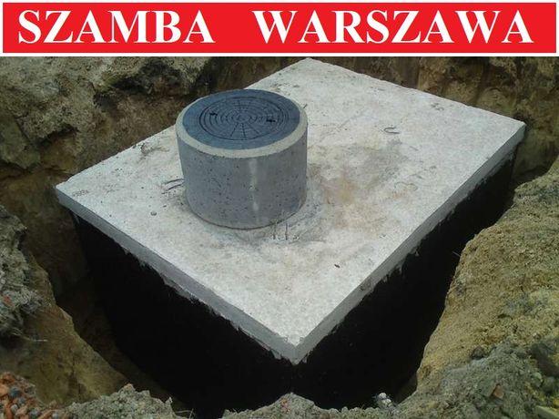Szambo na ścieki 10m3 szamba 4-12 betonowe zbiornik zbiorniki Warszawa