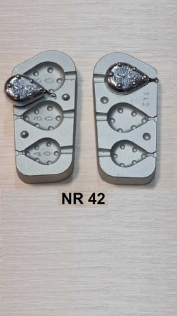 Forma wędkarska do odlewania ciężarków karpiowych 40/60/80 gr.