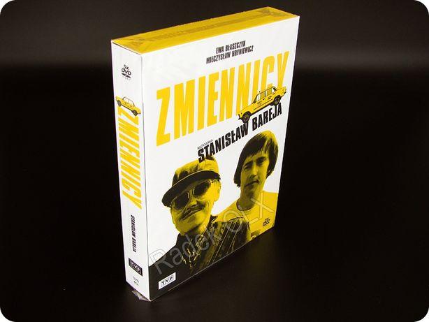 Zmiennicy 5x DVD BOX Nowy Folia Rekonstrukcja Cyfrowa Stanisław Bareja