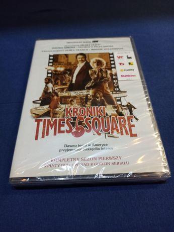 """Kroniki Times Square"" pierwszy sezon serialu na DVD [W FOLII]"