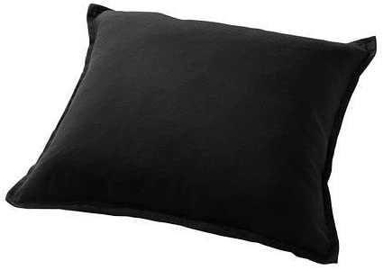 capas de almofada pretas IKEA