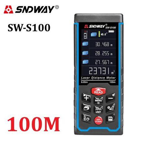 SNDWAY SW-S100 (100 метров) Лазерная рулетка/ Лазерный дальномер