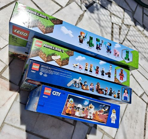 LEGO 5 Pack Minecraft / Harry Potter / Outros