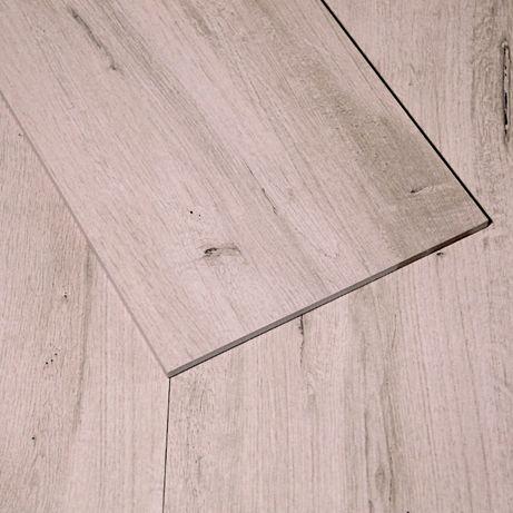 Płytki Podłogowe Ścienne Gres Drewnopodobne Wood White 30x120 Rett