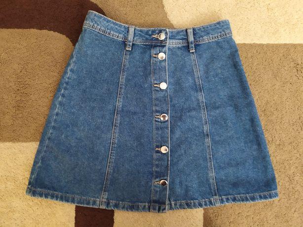 Классная джинсовая юбка H&M