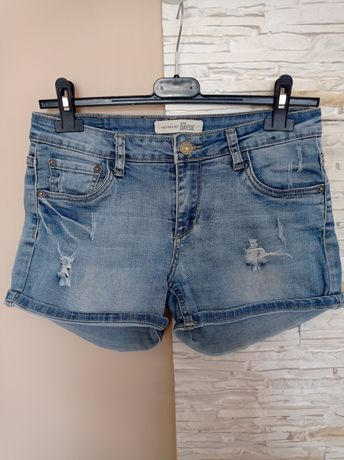 Spodenki jeansowe damskie rozmiar 36